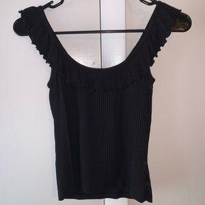 Black off the shoulder Forever 21 shirt
